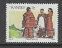 TIMBRE NEUF DU TRANSKEI - LA VIE AU TRANSKEI : FIANCEES FINGO N° Y&T 148 - Kostums