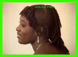SÉNÉGAL, AFRIQUE - COIFFURE TYPIQUE - PHOTO MYD - EDITION AFRICA - - Sénégal