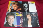 DON  JOHNSON  °  COLLECTION   4 / 45 TOURS  DIFFERENTS - Collections Complètes