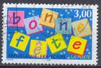 France YT N°3045 Bonne Fete Oblitéré ° - Gebraucht