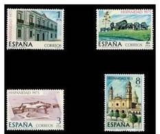 España 1975 Edifil 2293/6 Sellos ** Hispanidad - Uruguay Completa Spain Stamps Espagne Timbre Briefmarke Spanien - 1931-Hoy: 2ª República - ... Juan Carlos I