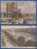 Frankreich; Paris 2xAK; Notre Dame 1929 Et La Seine Et La Cite - Notre Dame Von Paris