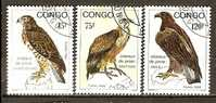 Congo 1993 Birds Of Prey.  (o) - Used