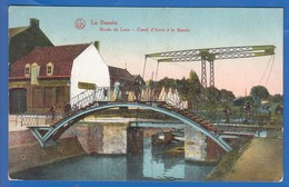 Frankreich; La Bassee; Route De Lens; Canal D'Aires A La Bassee; 1917 Feldpost; Rote Aufkleber - Francia