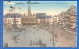 Frankreich; Saint Quentin; Rathausplatz; Feldpost 1918 - Saint Quentin