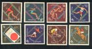 Jeux Olympiques 1964 Tokyo  Mongolia **  Never Hinged  Cyclisme Athlétisme Hippisme Gymnastique Natation Lutte - Summer 1964: Tokyo