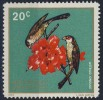 Ruanda Rwanda 1972 Mi 500 Yv 463 Sc 457 ** Common Waxbill : Astril Ondulé / Estrilda Astrild / Wellenastrild - Zangvogels