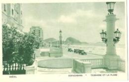 Copacabana .  La Terrasse Et La Plage De Copacabana. - Copacabana