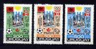 Uruguay ** PA N° 390A à 390C - Evènements De L'année - Uruguay
