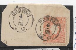 Sac155/ Mi. 15, Döblin, Briefstück - Sachsen