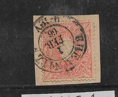 Sac158/ Mi. 15, Briefstück, Chemnitz - Sachsen