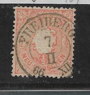 Sac161/ Mi. 15 B, Stempel Freiberg - Sachsen