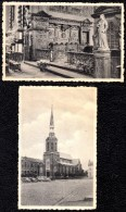 """2 X """" BERINGEN - BEERINGEN ---- Communiebank En Kerk - édit. Peeters - Thill ! - Beringen"""