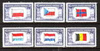 U.S. 909-21 ** OVERRUN COUNTRIES - Unused Stamps