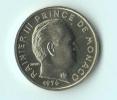 ** 10 CENT MONACO 1976  FDC **E104** - 1960-2001 Nouveaux Francs