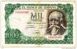 """1000 Pesetas  """"ESPAGNE""""   17  Septembre 1971   Bc84 - [ 3] 1936-1975 : Régence De Franco"""