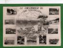 Calendrier Itinéraires  Des Vacances Au Bord De La Mer..carte En 2 Parties-  Carte Agenda Année 1955 -1960 - Calendriers