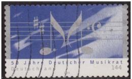 Alemania 2003 Scott 2247 Sello º 50 Aniversario Musica 144 Michel 2347 Allemagne Duitsland Germania Germany Alemagne - [7] República Federal