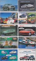 VOITURE - CAR - LOT De 50 Télécartes Privées Japon - Japan Phonecards - AUTO Telefonkarten - 3149 - Voitures