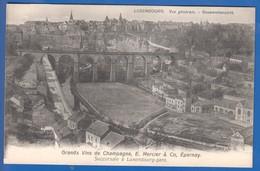 Luxembourg; Vue Generale; Grands Vins De Champagne E. Mercier & Co.; Epernay - Luxemburg - Stadt