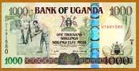 """1000 SHILLINGS  """"OUGANDA""""   2005    UNC Ble64 - Uganda"""