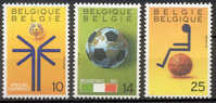 BE 2361/63** Sport - COB : 3,25 € - 1990 - België