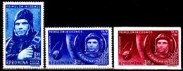 Roumanie Pa 141 / 43 Premier Vol De L'homme Dans L'Espace - Space