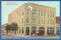 USA; Oregon; Josephine Hotel; Grant's Pass; 1917 - Non Classés