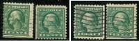 U.S.A. - ( U.S.P.)  - 1916 / 17  -  N.  305  ?  Usati  -  Lotto  375 /76 - Used Stamps