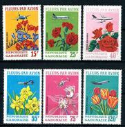 "Cameroun      "" Flowers""      Set       SC# 441-43, C70-72 MNH** - Gabon"