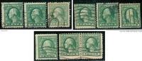 U.S.A. - ( U.S.P.)  - 1917 / 19  -  N.   336 ?  Usati  -  Lotto  408 /09 /10 - Used Stamps