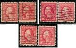 U.S.A. - ( U.S.P.)  - 1917 / 19  -  N.   337 ?  Usati  -  Lotto  425 /26 /27 - Used Stamps