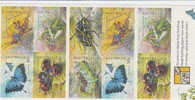 Australia-2002 Bugs And Butterflies   Booklet - Booklets