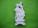 Soliflor Haut 25cm -- Porcelaine AVIGNON-avec Personnage  Sans Eclats    19/8036 - Ohne Zuordnung