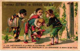 0119 Mariage De Colombine Harlekijn, Arlechino, Pierrot LIEBIG Complete Set 119 Litho Chromos 6 Cards - Liebig