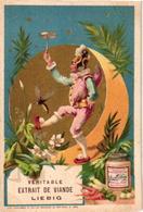 0148 Pierrots Et Pierettes,  Harlekijn, Arlechino, Theatre C1884 Liebig's 148 Litho Chromos 6 Cards Complete Set - Liebig