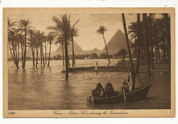 Lehnert Et Landrock  1046 Cairo  Native Scene During The Inundation  P.used Alexandria 1926 - Ohne Zuordnung