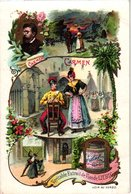 0789 Opera Mignon Barbier De Seville- Carmen -Fra-Diavolo-Paul&Virginie -music Complete LIEBIG Set 6 Cards - Liebig
