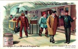 0801 Voyages D'il Y A 100 Ans Et D'aujourh'ui - Complete LIEBIG Set 6 Cards Combine Sendings & Get Discount - Liebig