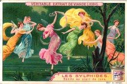 0866  Les  Sylphides-danse Aux Papillons-au Clair De Lune-  6 Cards  - LIEBIG  Combine Buying & Get Discount - Liebig