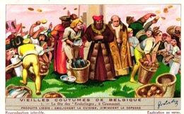 1366 Vieilles Coutumes De Belgique  - OUDE GEBRUIKEN IN BELGIE - Liebig Chromo Set Complete 6 Cards - Read Description - Liebig