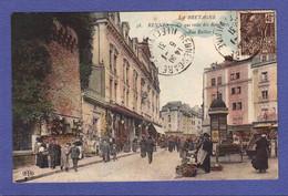 304)  RENNES  Rue Rallier Commerce Marché  1931  (TTB Etat) - Rennes