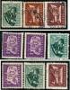 BULGARIA  -  Rep. Pop. - 1951  -  N.    687  E  688   S.g. E Usati  -  Lotto  258 /59 /60 - Nuovi