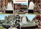 - ESPAGNE...TARRAGONA......MULTIVUES.....STATUES...COSTA DORADA... - Tarragona
