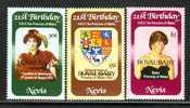 Nevis  153-5   *  PRINCESS DI  ROYAL BABY - St.Christopher-Nevis-Anguilla (...-1980)