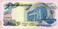 1000 Dong - MOT NGAN DONG - N° Z4 418491 - TTB+ - Vietnam