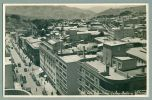 La Paz BOLIVIA 1940s Street Town View Vintage Topographic Real Photo Postcard RPPC (O-12) - Bolivia