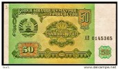 """50 Rubles """"TADJIKISTAN""""       UNC   Bc114 - Tadjikistan"""