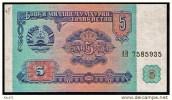 """5 Rubles """"TADJIKISTAN""""       UNC   Bc114 - Tadjikistan"""