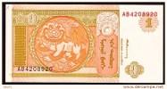 """1 Tugrik    """"MONGOLIE""""       UNC  Bc116 - Mongolia"""